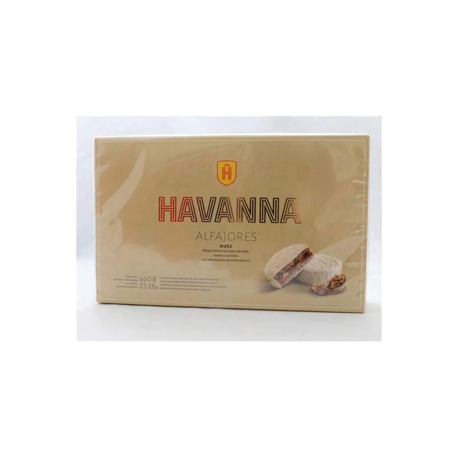 12 Alfajores Havanna enrobée meringue aux noix