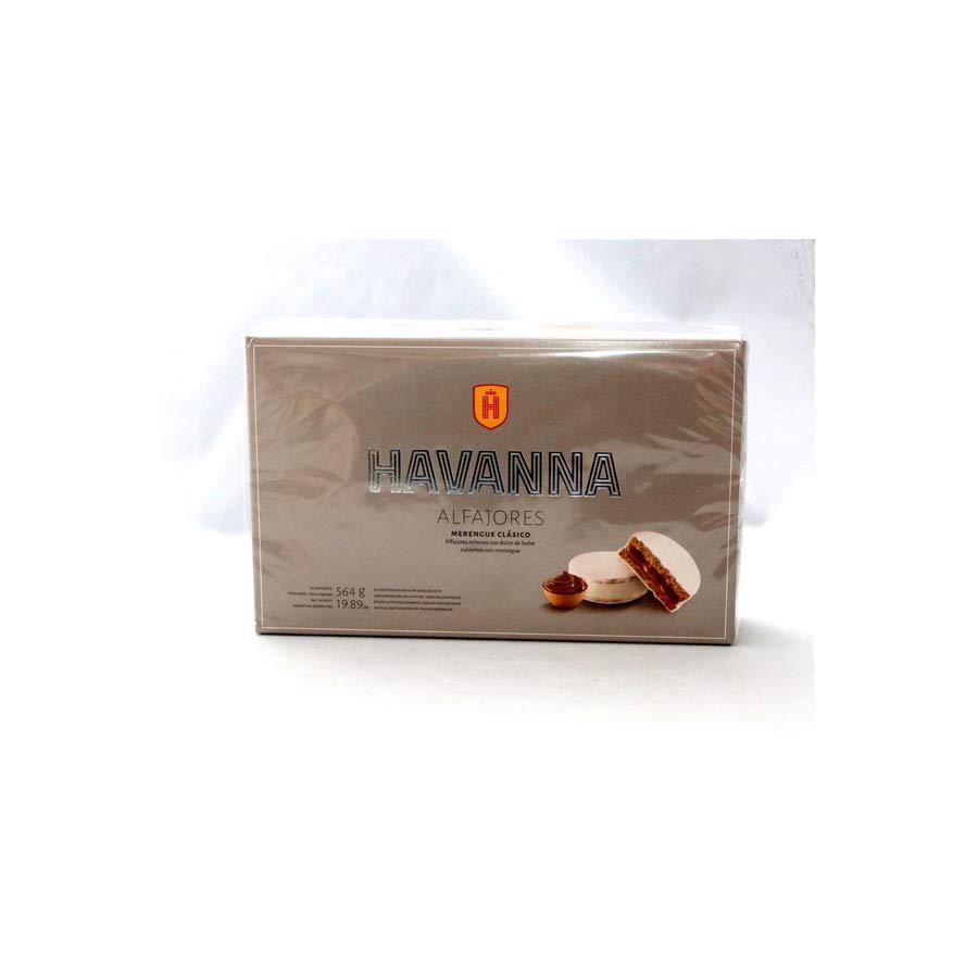 12 Alfajores Havanna enrobée meringue