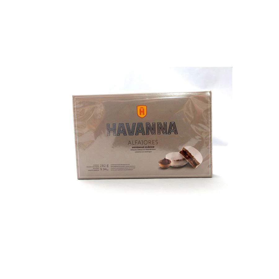 6 Alfajores Havanna enrobée meringue