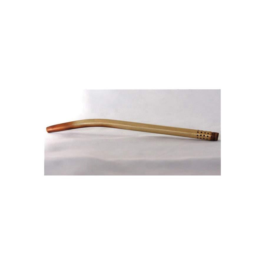 Bombilla à yerba mate en bambou courbe
