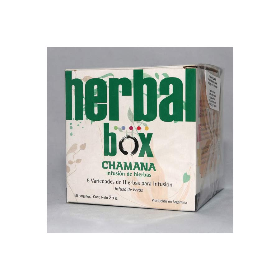 Chamana Herbal Box, assortiment bien-être