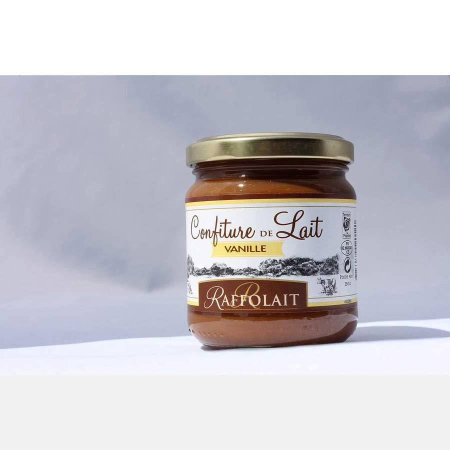 Confiture de lait Raffolait à la vanille