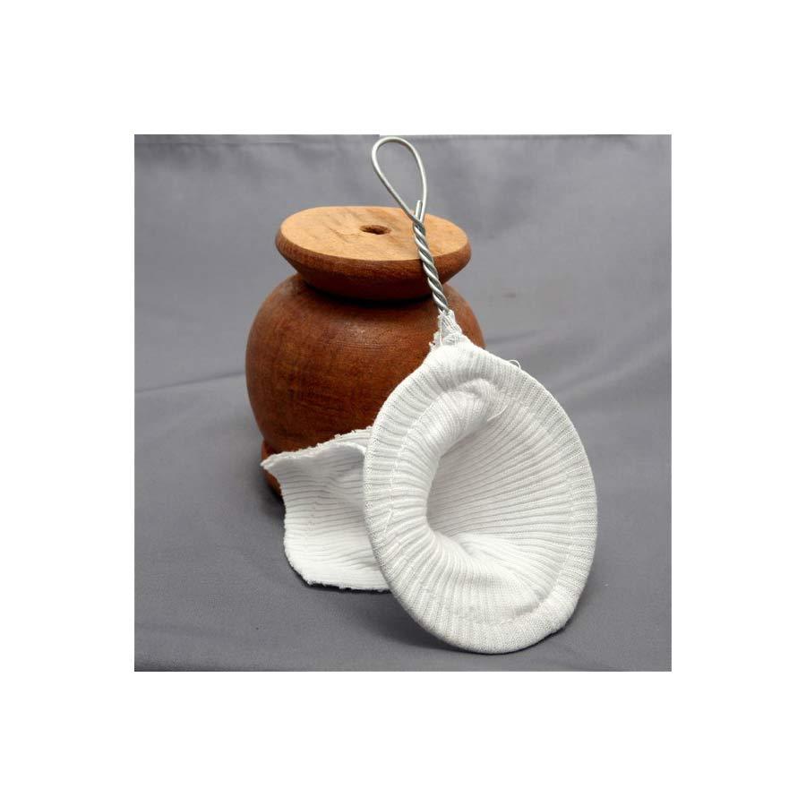Filtre à maté en coton, sans bombilla pemet de de filtre l'eau après impregnation du maté