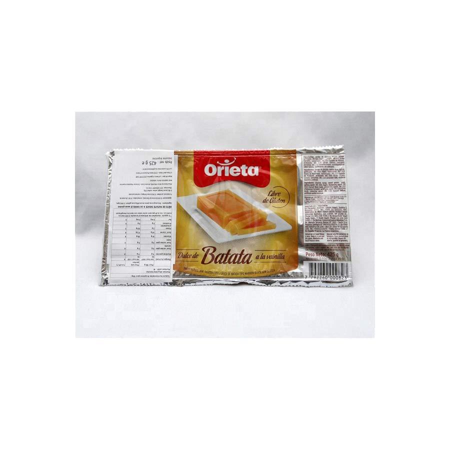 Pate de Patate Douce à la Vanille Orieta