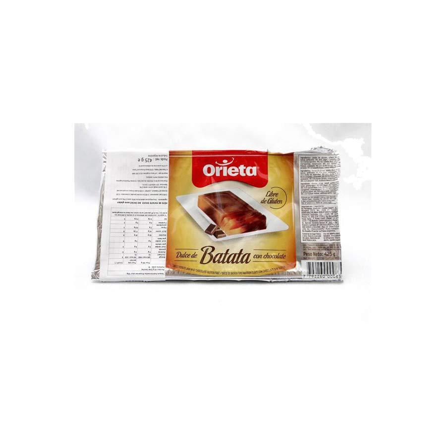 Pate de Patate Douce au chocolat
