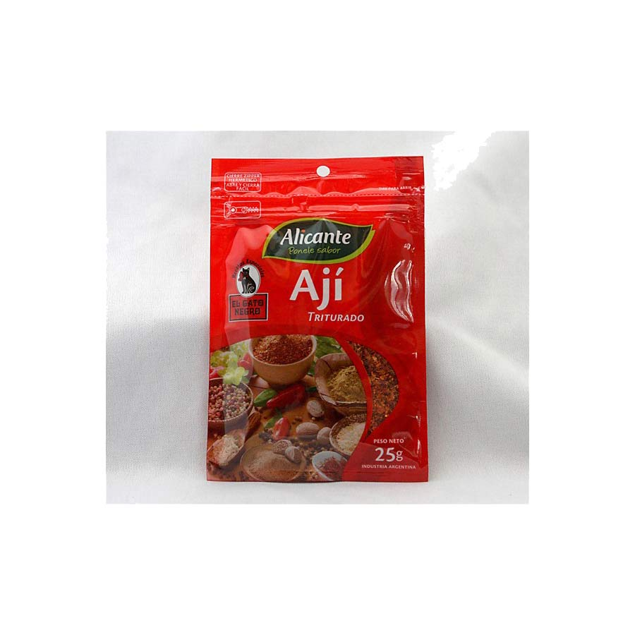 Piment rouge Moulu d'Argentine 25g Alicante