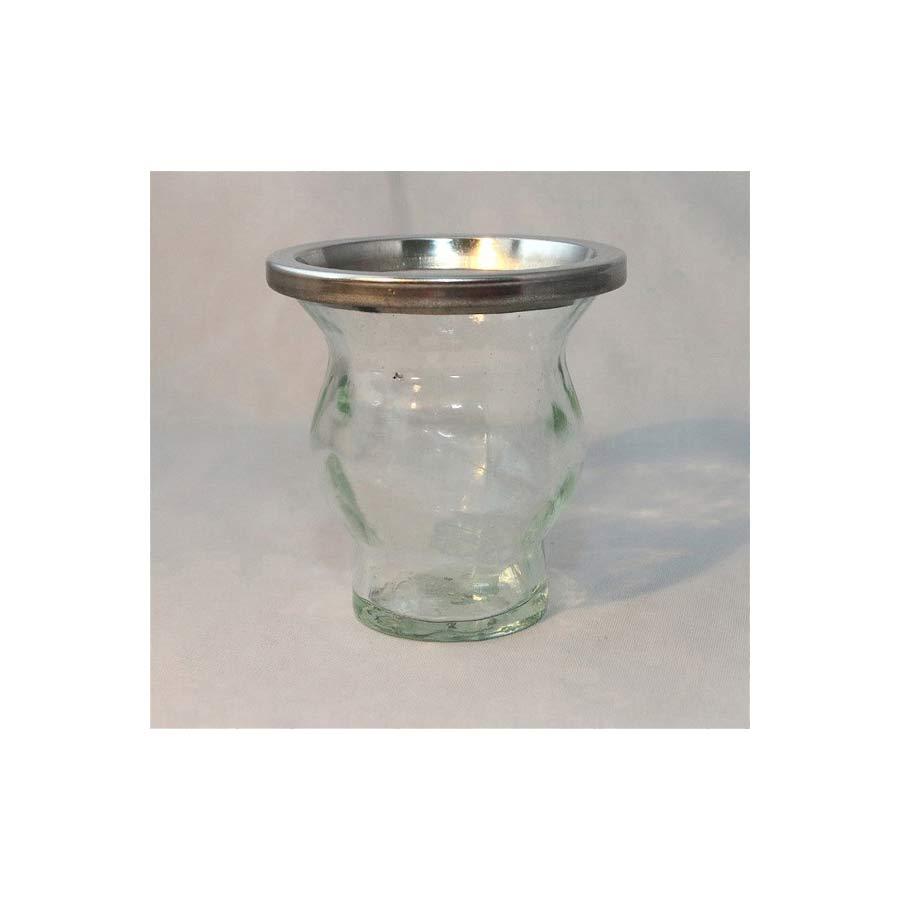Pot à maté en verre