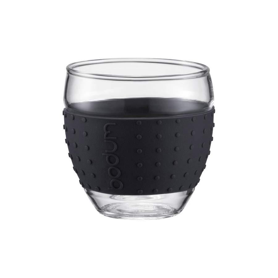 Set de 2 tasses Pavina Bodum avec bande silicone 35cl