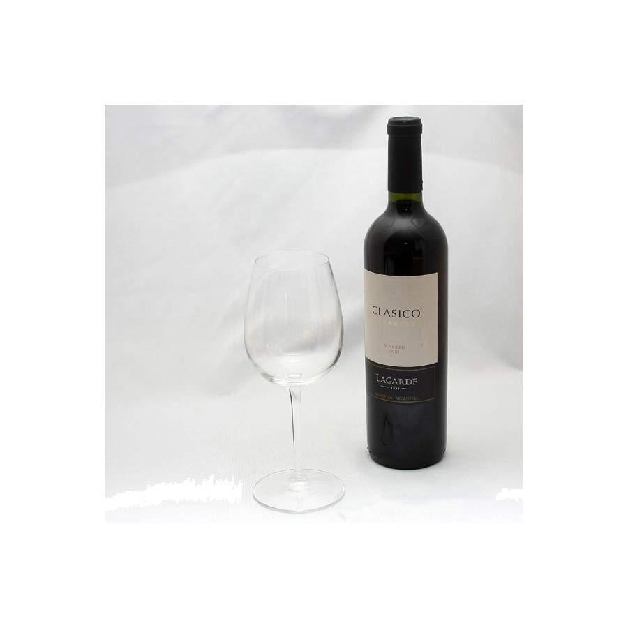 Vin argentin rouge Classico Malbec/Merlot Lagarde