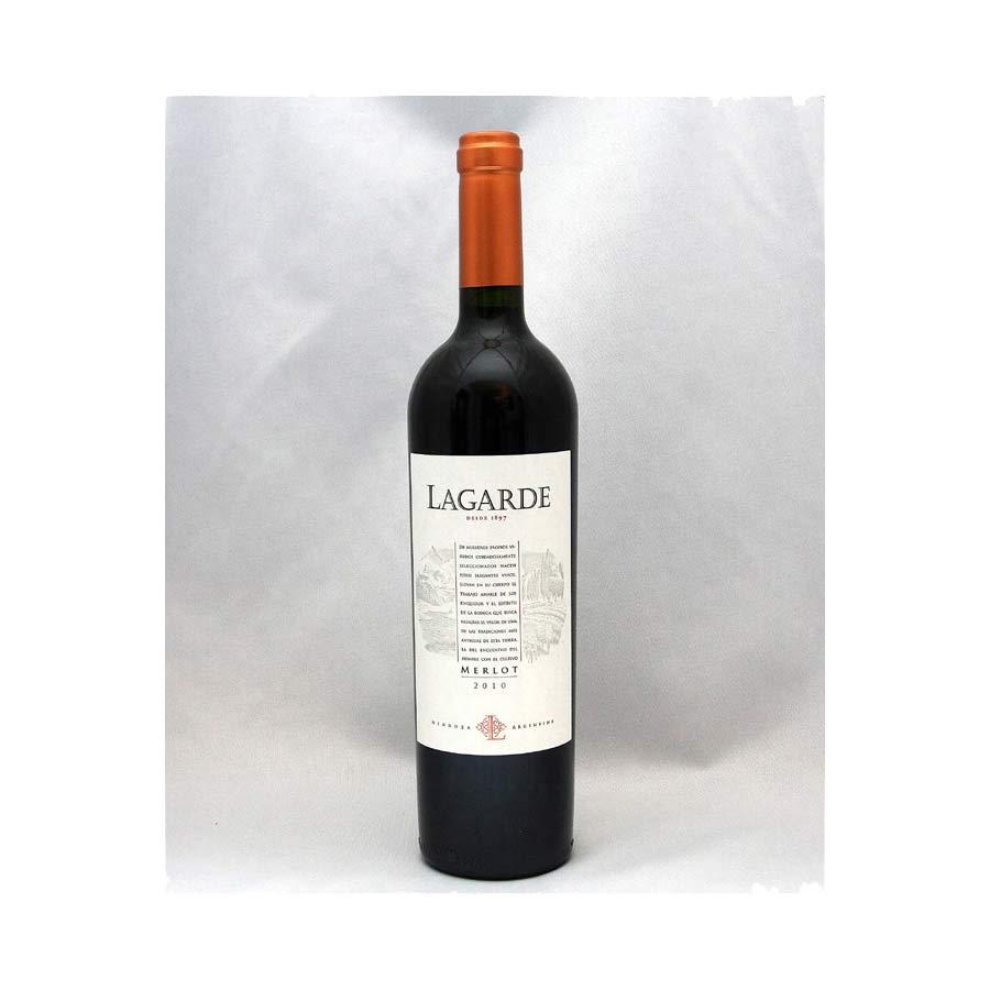 Vin rouge argentin MERLOT 2010 Lagarde