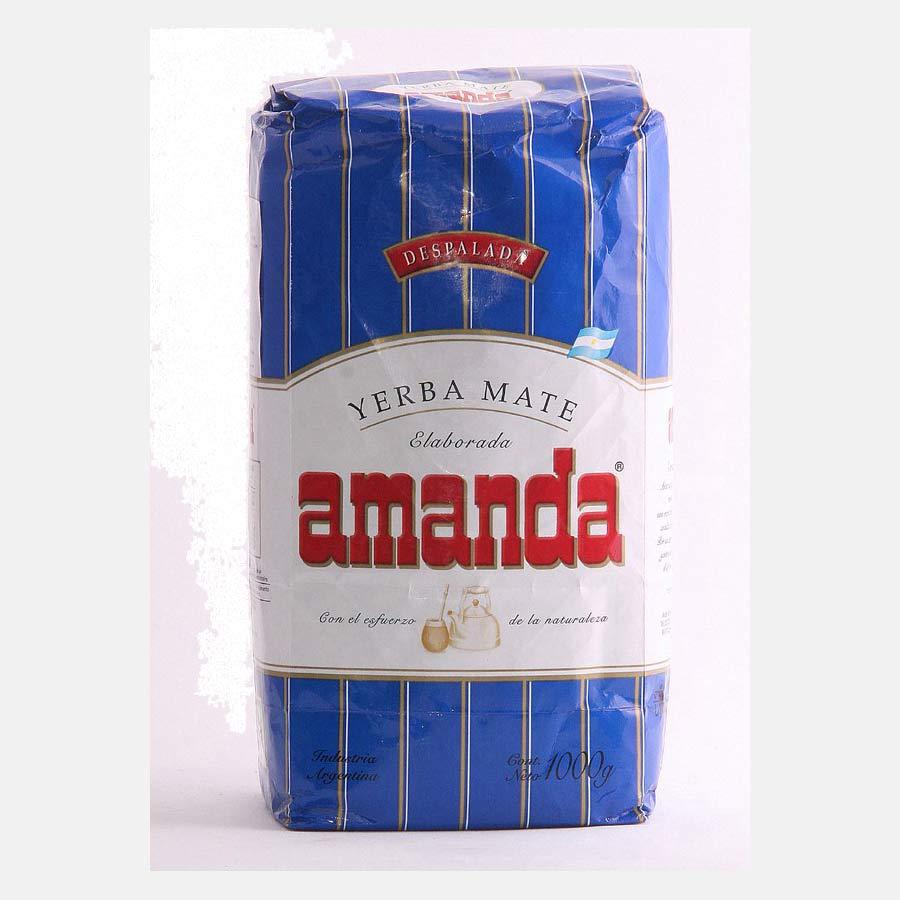 yerba maté Amanda Despalada en 1kg