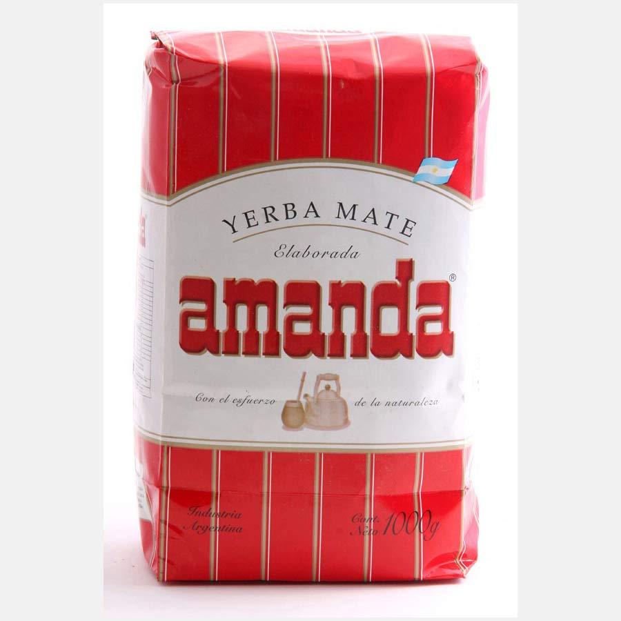 Yerba Maté Amanda, marque populaire en Argentine en paquet de 1kg