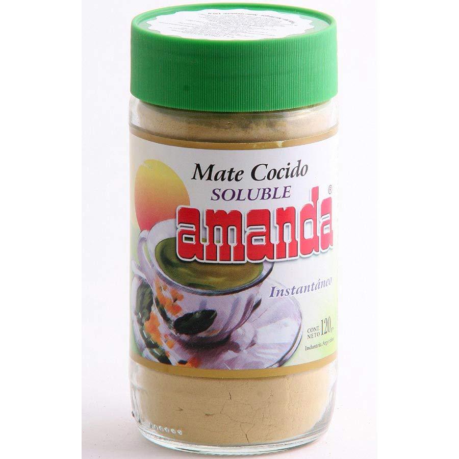 Yerba Maté de la populaire marque Amanda en poudre soluble