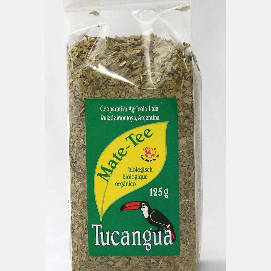 Yerba maté biologique et équitable Tucangua Doux en paquet de 100g