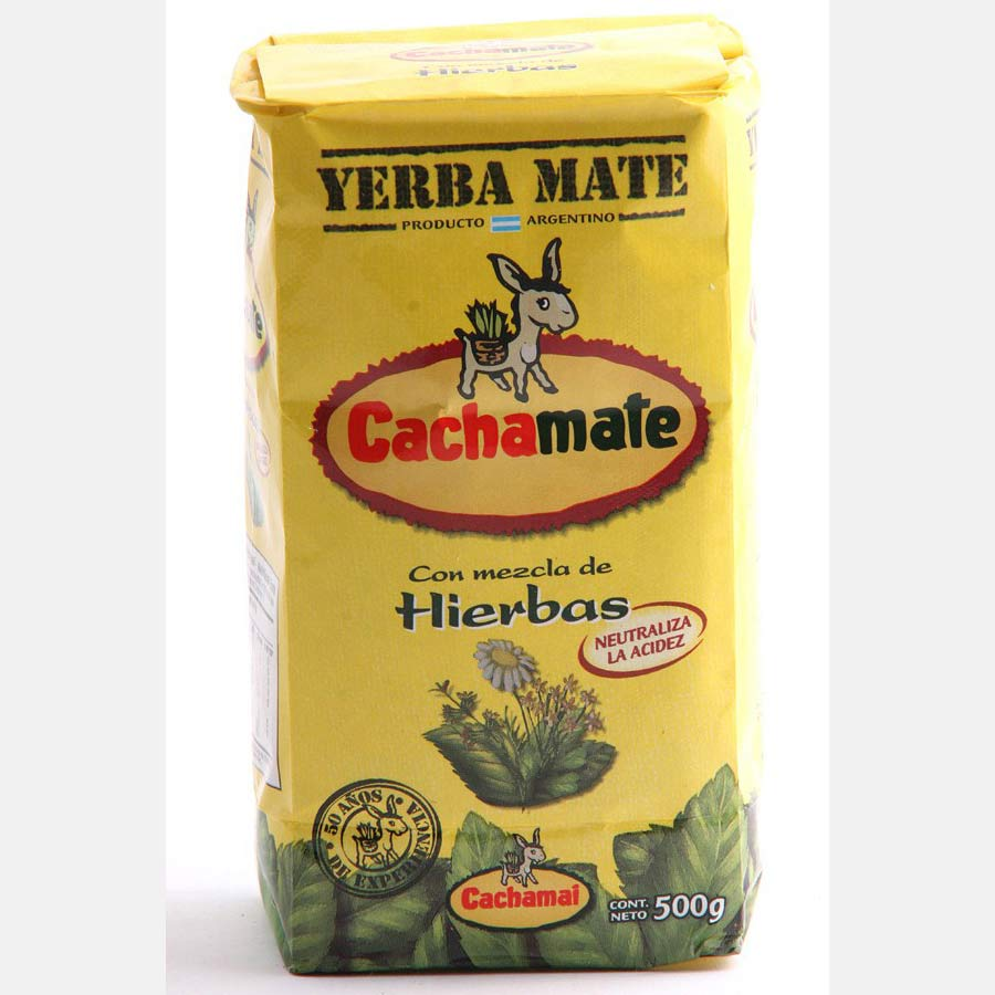 Yerba Mate traditionnelle CachaMate en paquet de 500g