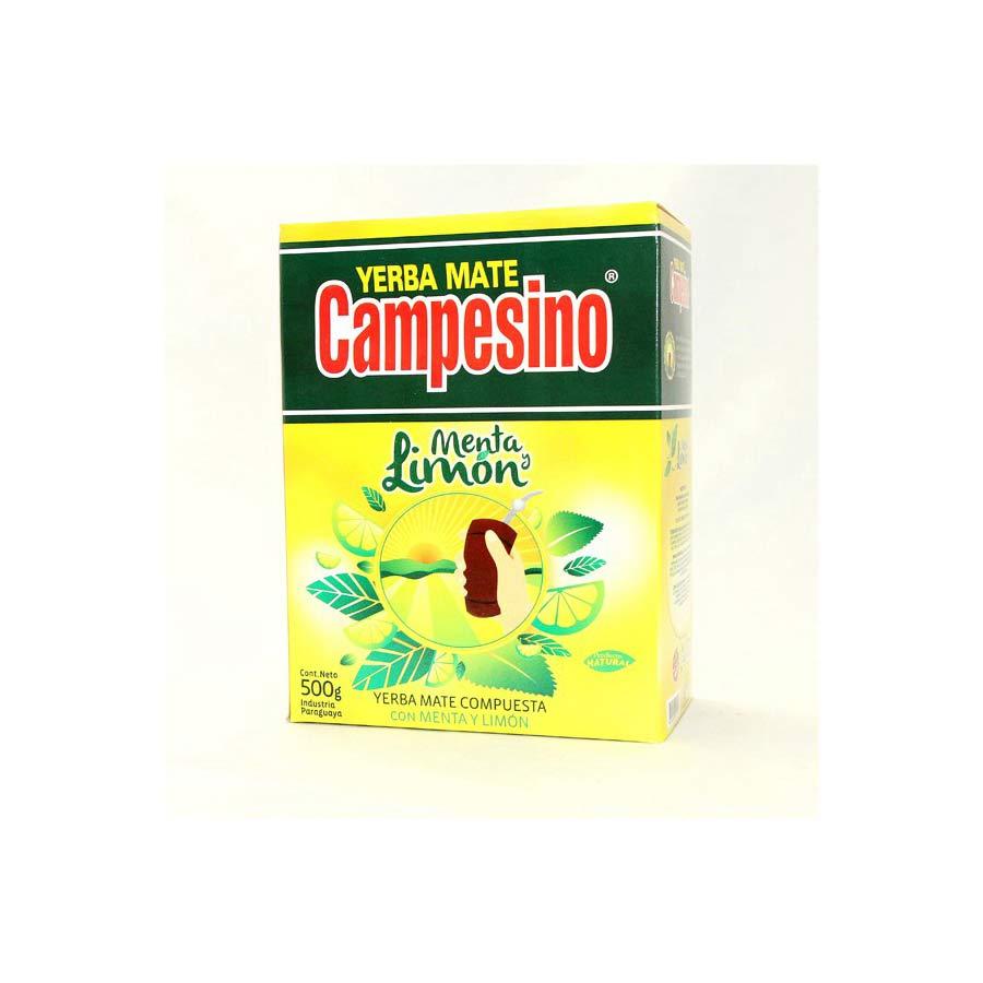 Yerba mate Campesino Menta y Limon 500g