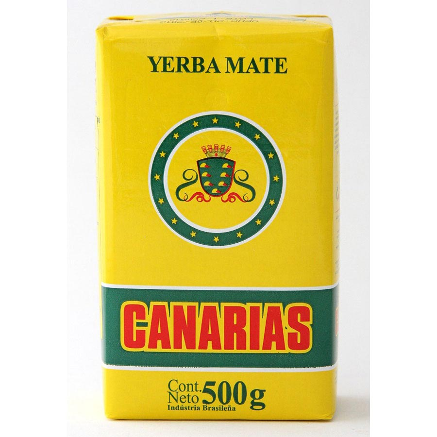 Yerba maté d'Uruguay marque Canarias 500g
