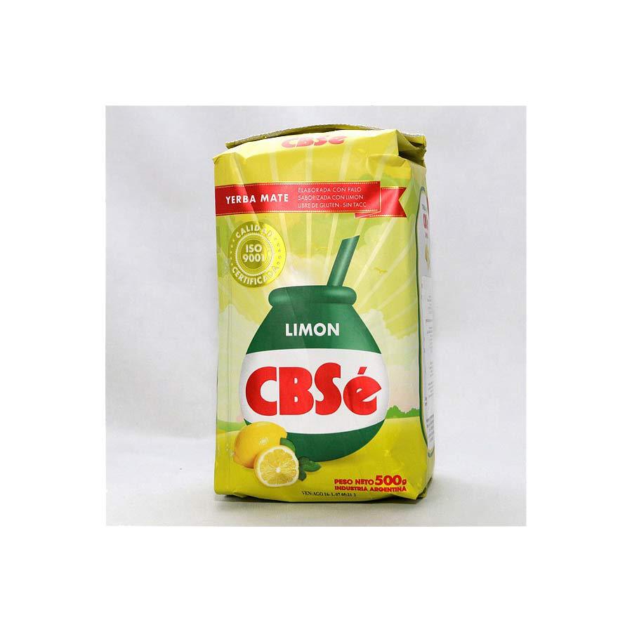 Yerba maté CBSé Citron, Limon 500g