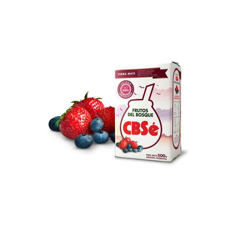 Yerba Maté CBSe Fruits des bois 500g