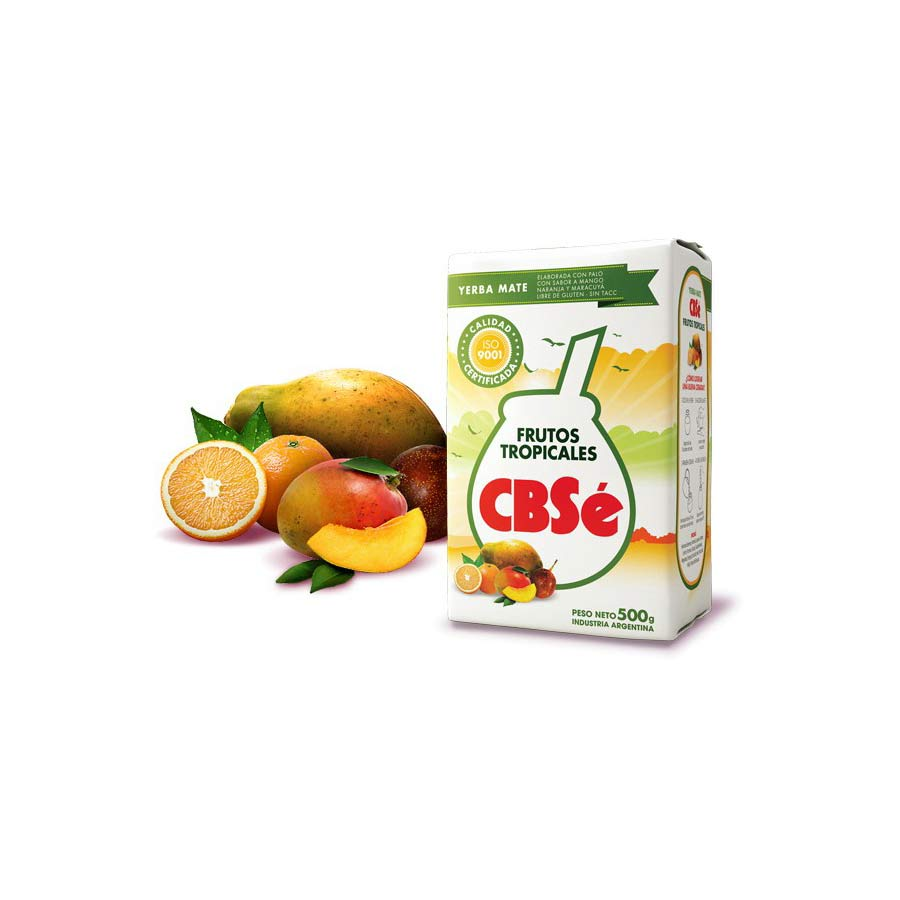 Yerba Maté CBSe fruits tropicaux 500g