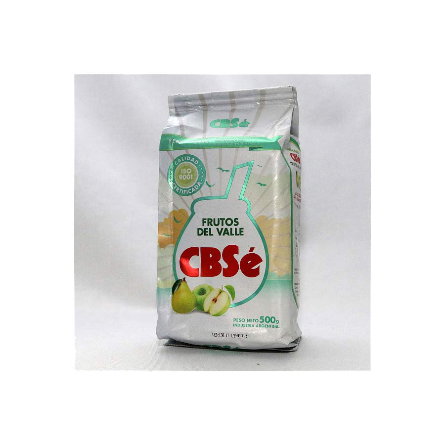 Yerba Maté CBSe Pomme-poire 500g