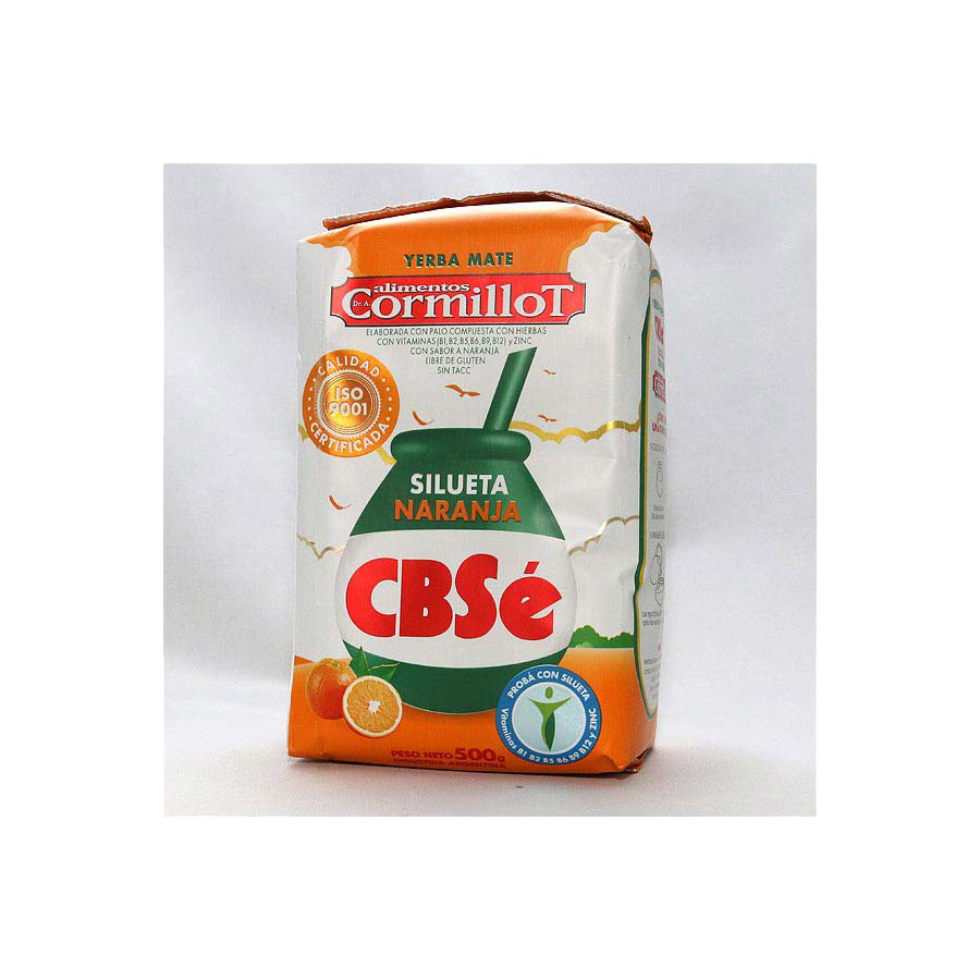 Yerba Maté CBSe silueta orange 500g
