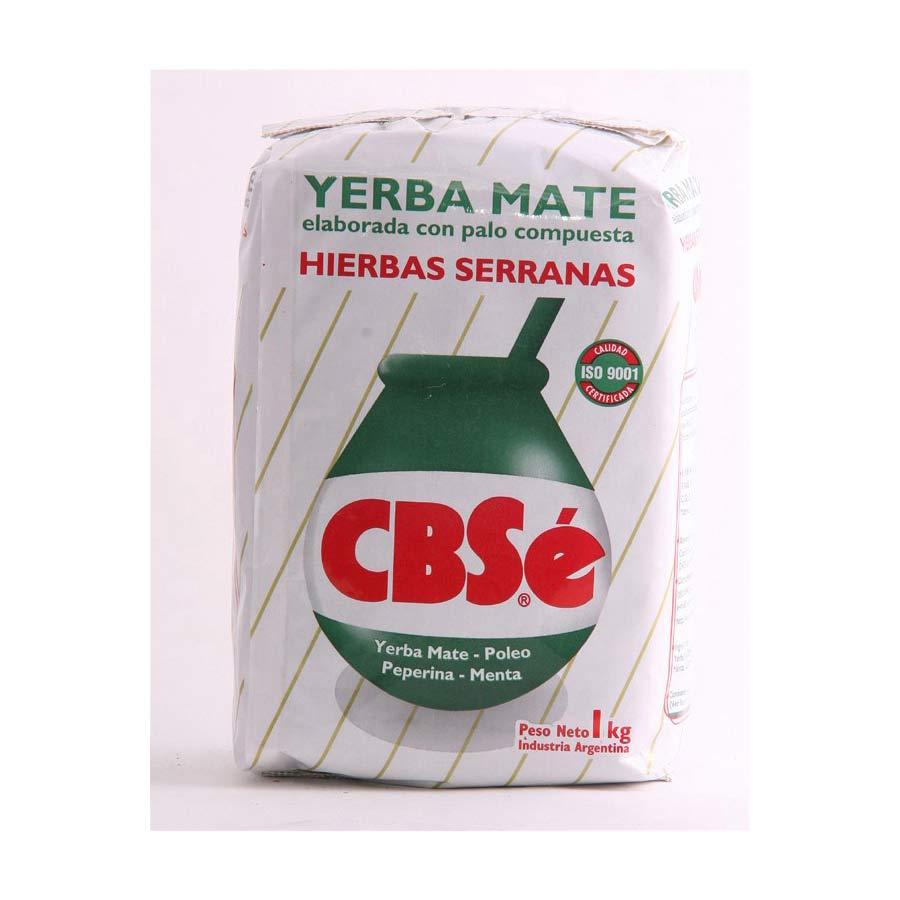 Yerba maté d'Argentine CBSe traditionnelle 1kg