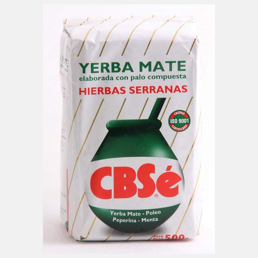 Yerba Mate additionnée de plantes de la marque CBSe en 500g