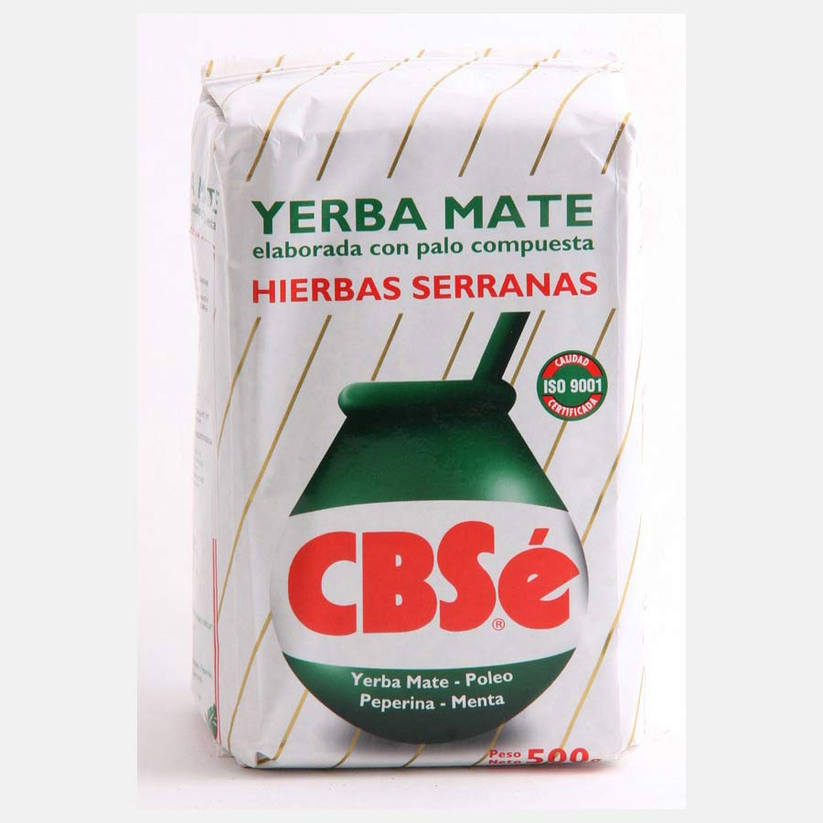 Yerba Mate en vrac marque CBSe traditionnelle en paquet de 500g