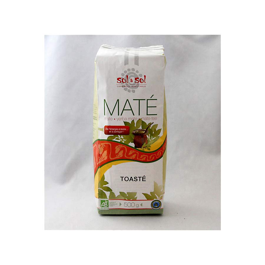 Yerba Maté toasté Bio Sol a Sol 500g