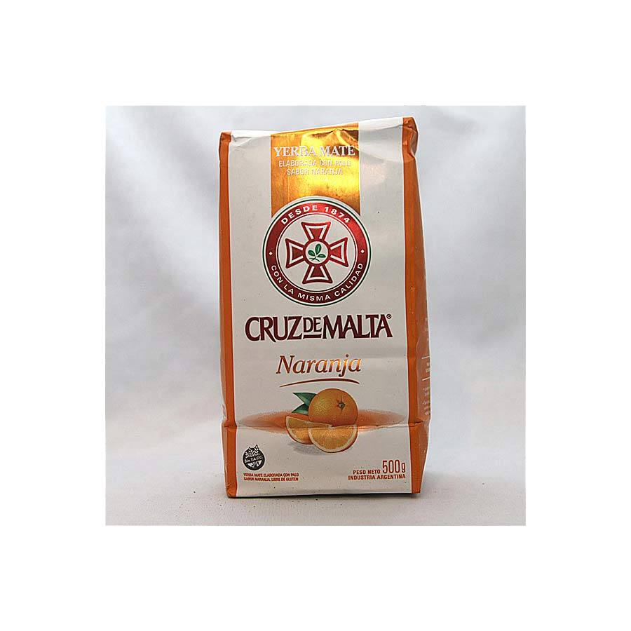 Yerba Maté Cruz de Malta orange 500g