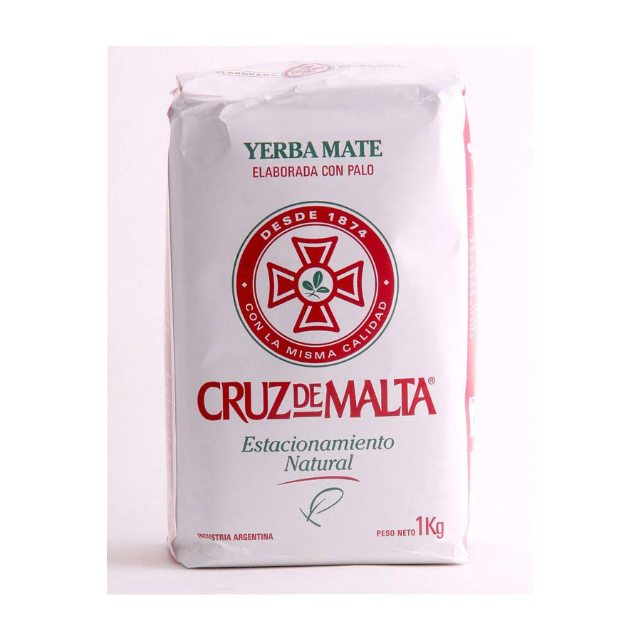 Yerba mate Cruz de Malta Traditionnelle 1kg