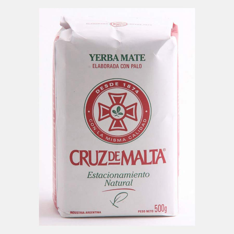 Yerba Maté Cruz De Malta traditionnelle en paquet de 500g