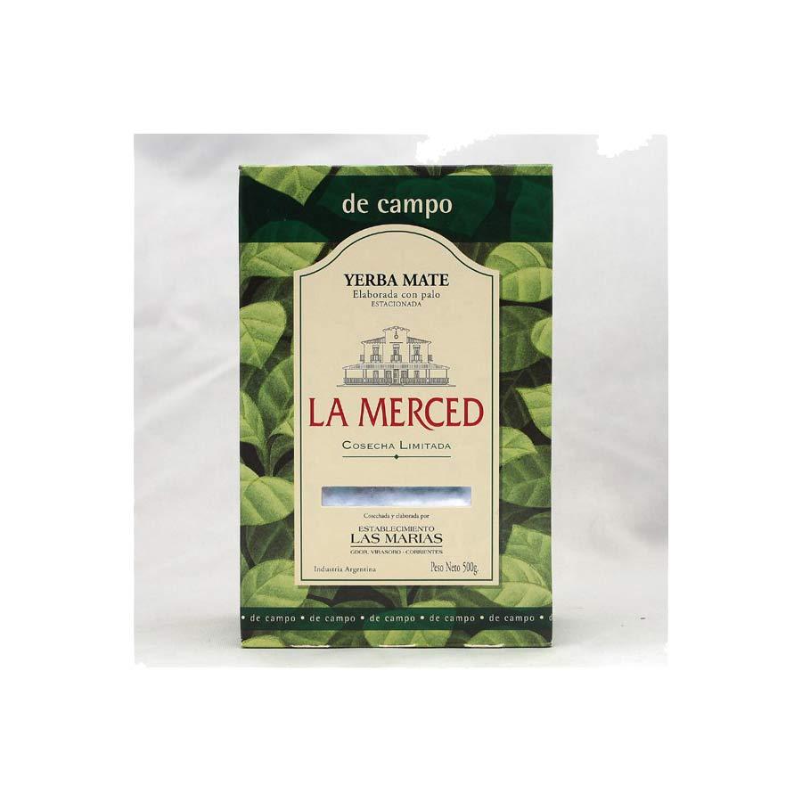 Yerba mate de grande qualité d'Argentine, La Merced Original del Campo 500g