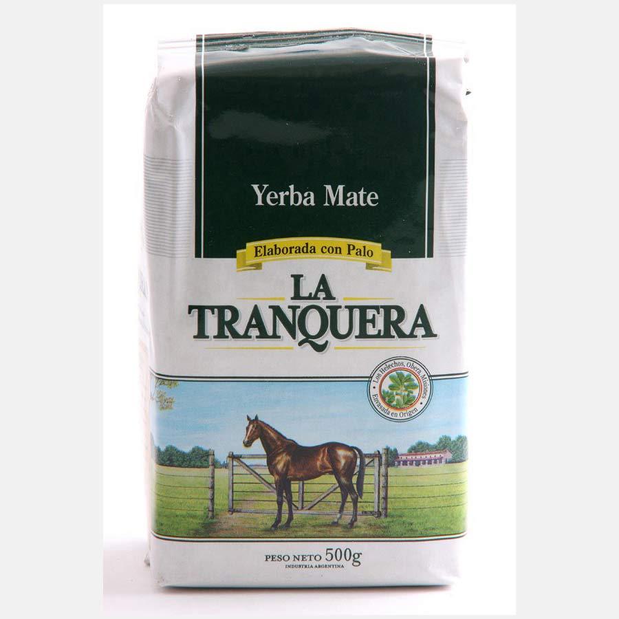 Yerba Maté traditionnelle La Tranquera con Palo en paquet de 500g