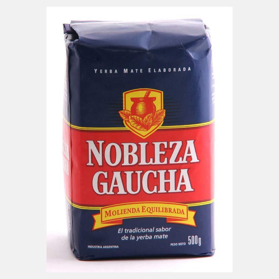 Yerba Maté Nobleza Gaucha traditionnelle, Con Palo, avec tige, pour une gout plus doux