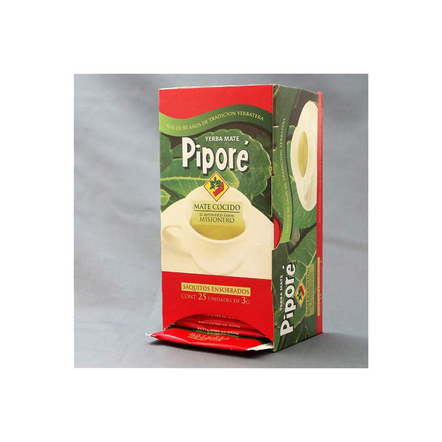 Yerba mate Pipore en infusette 25x