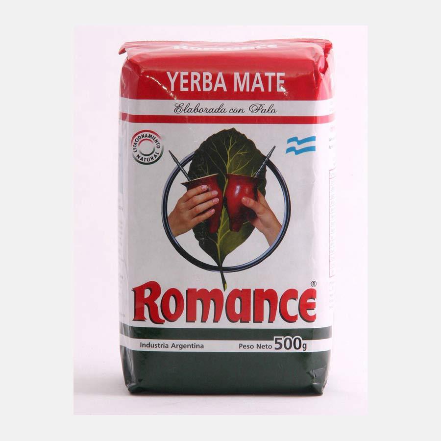 Yerba Maté d'origine Argentine marque Romance 500g