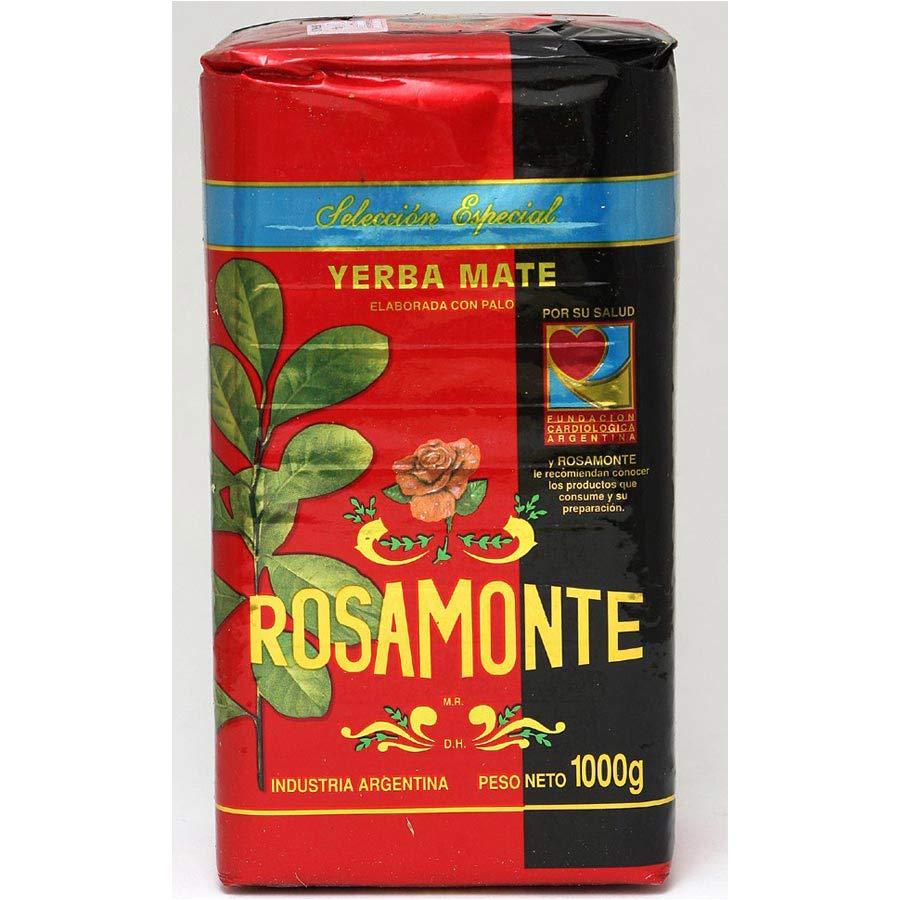 Yerba maté en vrac d'Argentine Rosamonte especial 1kg