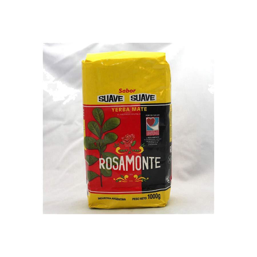 Yerba maté traditionnelle adouci Rosamonte Suave 1kg