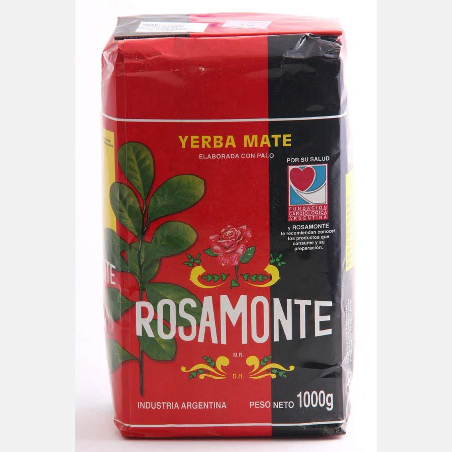 Yerba Maté traditionnelle en vrac, marque Rosamonte et conditionnée en 1kg