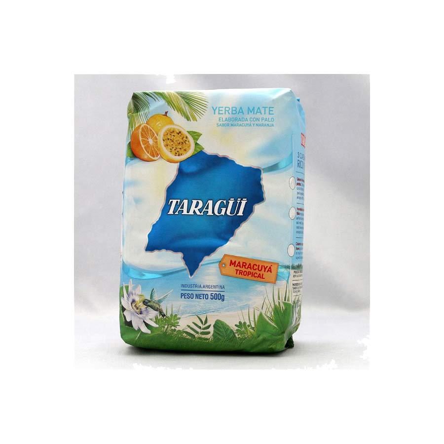 Yerba mate Taragui fruits de la passion, 500g